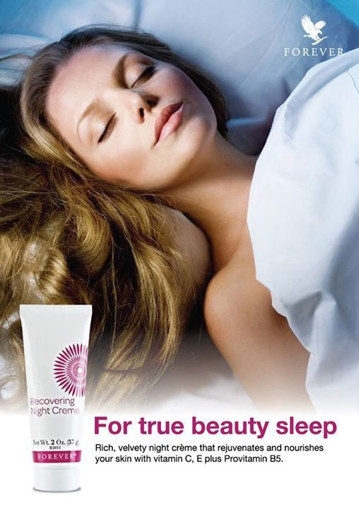 For true beauty sleep!! Find our complete range of skin care products at http://www.foreveraloeaberdeen.myforever.biz/store