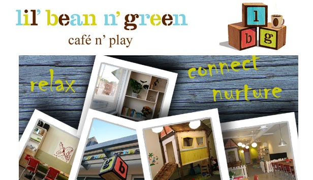 Have you bean to Lil Bean N Green in Leslieville? Great spot to play with your kids and grab a delicious drink!