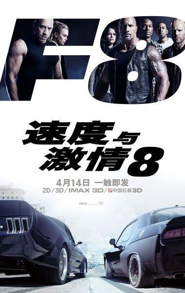 FURIOUS 8 breaks midnight box office records in China https://twitter.com/ChinaBoxOffice/status/852535001501577217 #timBeta