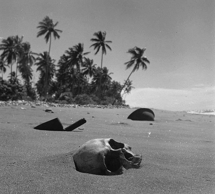 Solomon Islands Beach: Matanikau River Beach, Guadalcanal 1951