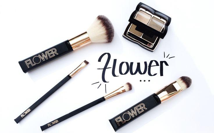 Flower Beauty Makeup Brushes Saubhaya