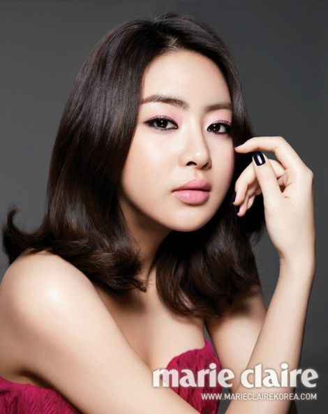 Kang Sora Marie Claire Korea Magazine March 2012