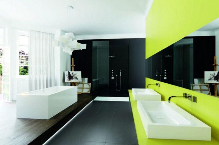 74 best Salle de Bains images on Pinterest - salle de bain meuble noir