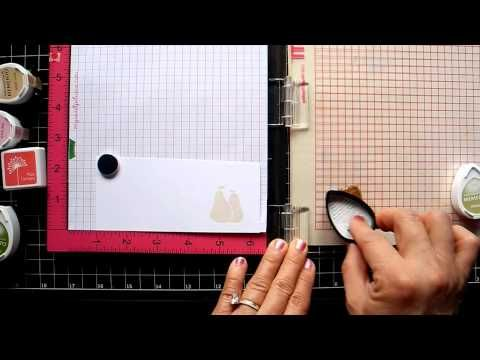Stamping Small Solid Image with MISTI