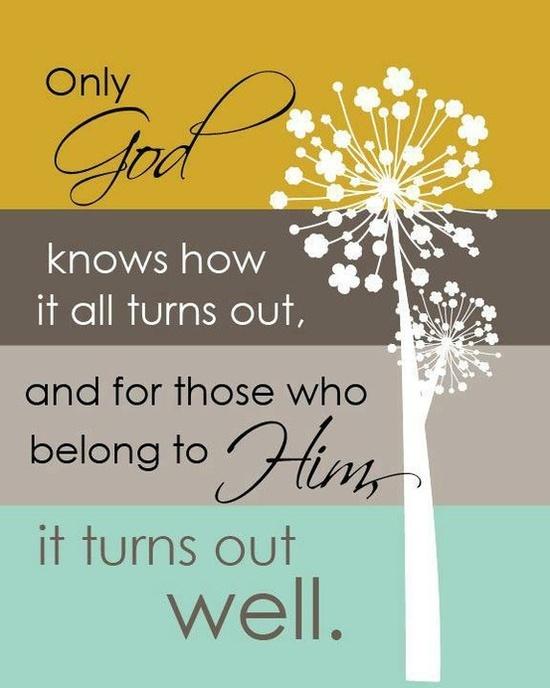 Grateful for Him.