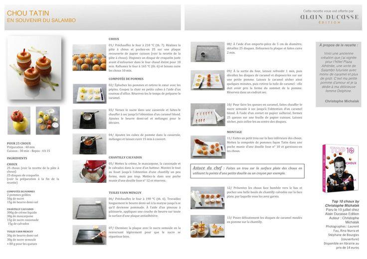 Plus de 1000 id es propos de g teaux de chefs sur pinterest - Livre cuisine michalak ...