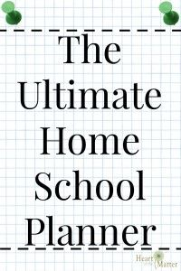 The Ultimate Home School Planner