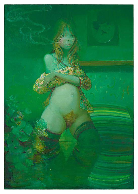 The Smoker | Lisa Yuskavage