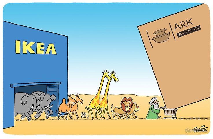 Ikea Ark von timtoons