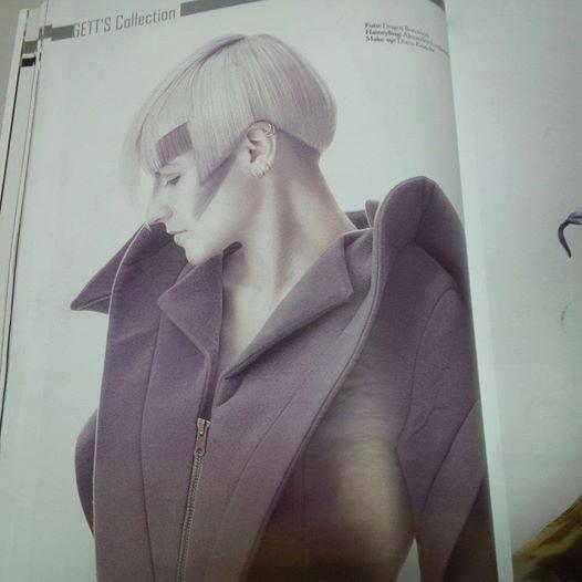 Published in Revista ESTETICA Romania 2014 MUA: Diana Enaiche Model: Juliyah BadLuck