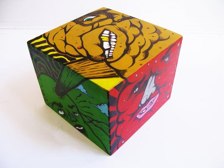 Cube - Wood