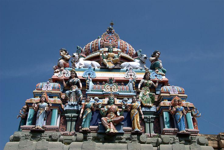 Kampahareswarar Chola temple at Tribhuvanam