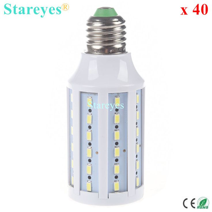 Free shipping 40 pcs E27 E14 B22 15W 5630 5730 SMD 60 LED AC110V/220V LED corn bulb Maize Lamp SMD Spotlight  light lighting #Affiliate