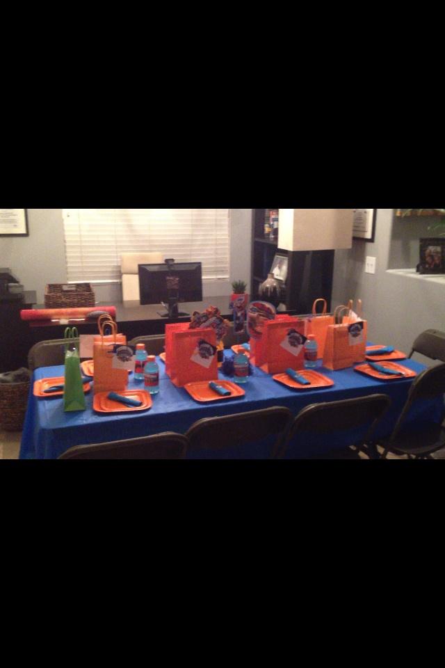 Skylander Giants Birthday Party