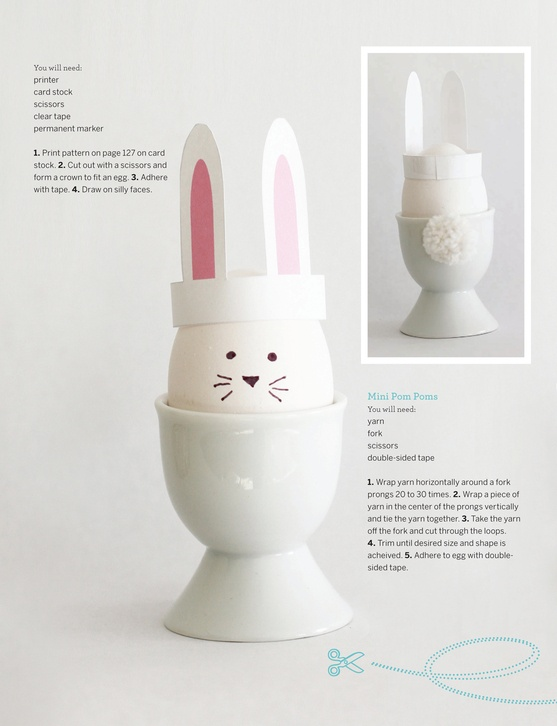 Bunny eggs - a how to
