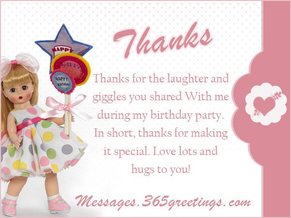 Birthday Thank You Messages, Thank You for Birthday Wishes