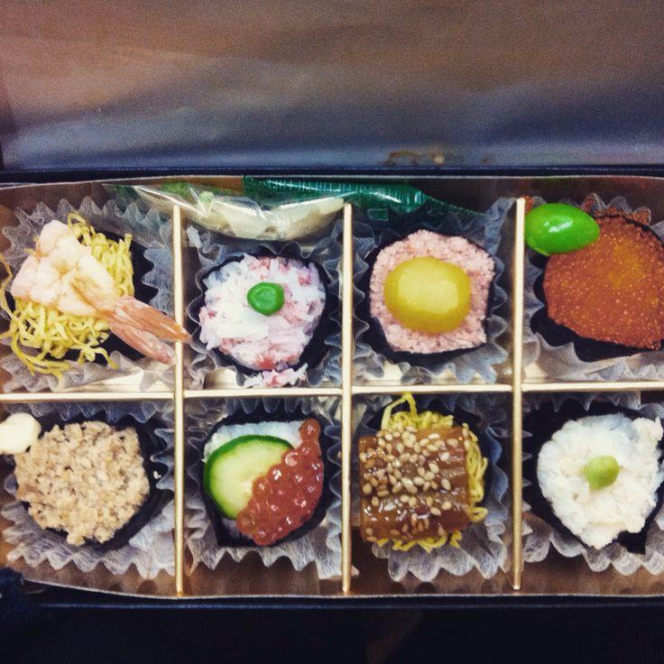 People's favorite: sushi