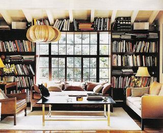 Its a library.  Its a living room.  Its instantly an elegant dining room.