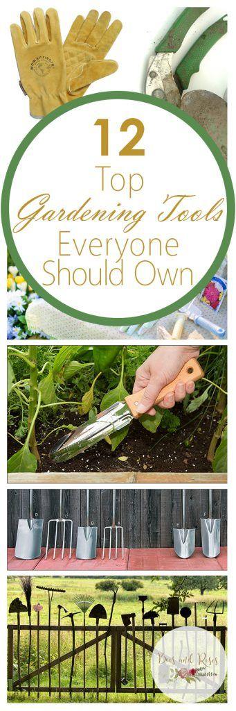 1290 best garden tips tricks images on pinterest for Gardening tools beginners