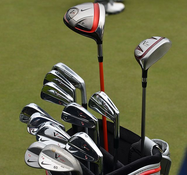 Tiger Woods Golf Clubs at 2012 US Open