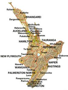 how to travel from north to south island new zealand