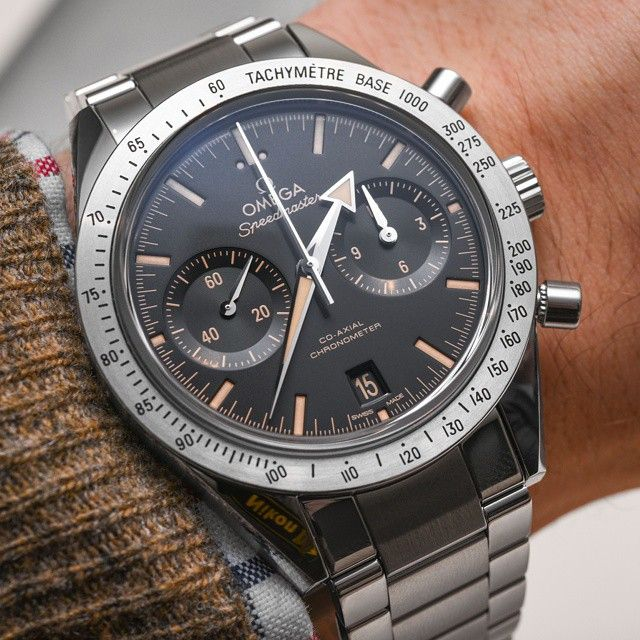 2015 Omega Speedmaster '57, with a 41.5mm steel case and a 9300 Co-Axial movement.
