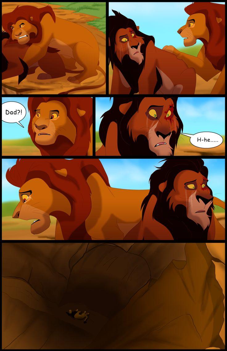 Картинки король лев комиксы
