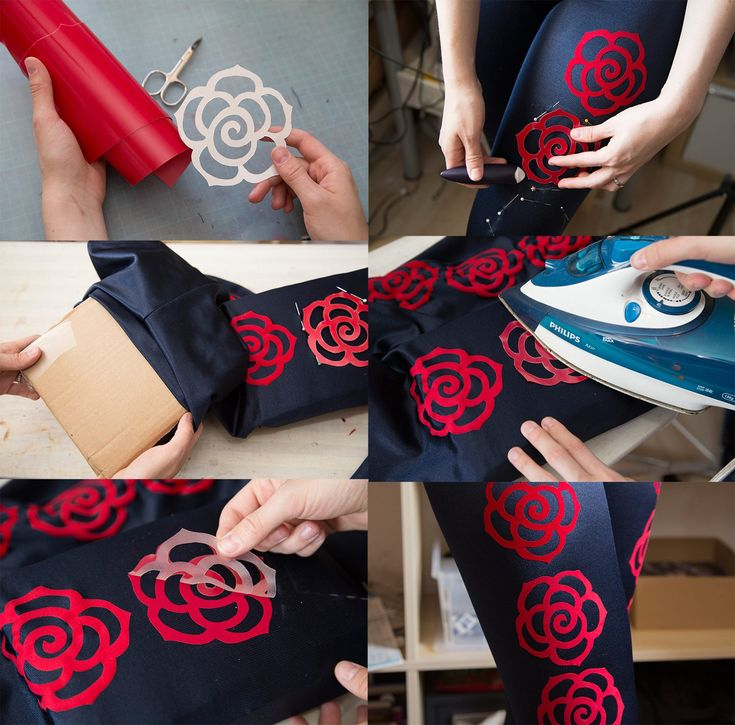 Cosplay Tutorial: How to iron on foil to lycra spandex