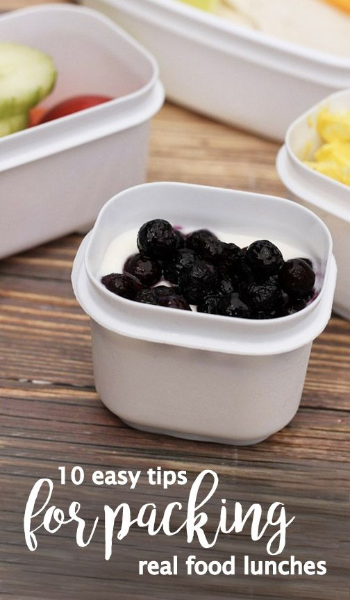 You and your kids will love these 10 easy tips for packing real food lunches thanks to these fun and delicious ideas. With recipes including fresh fruits and vegetables, Rubbermaid LunchBlox®, and other creative solutions, consider these tips your back-to-school meal prep guide!