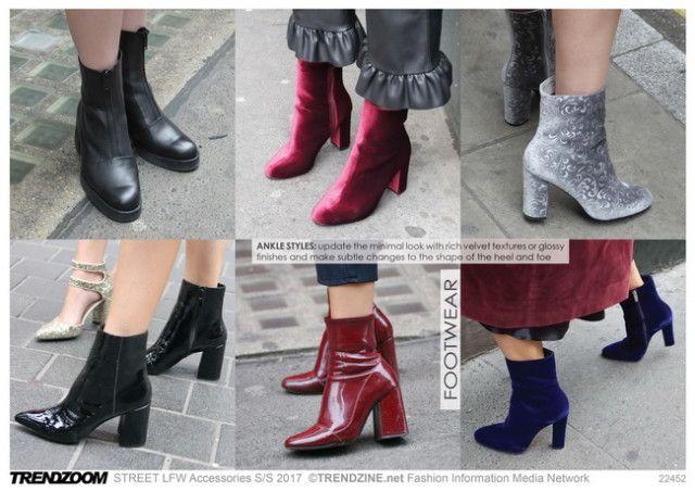 #Trendzine SS 2017 trends on #WeConnectFashion. STREET London Fashion Week: Footwear