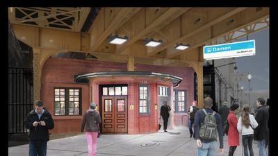 Blue Line's California station to reopen Thursday