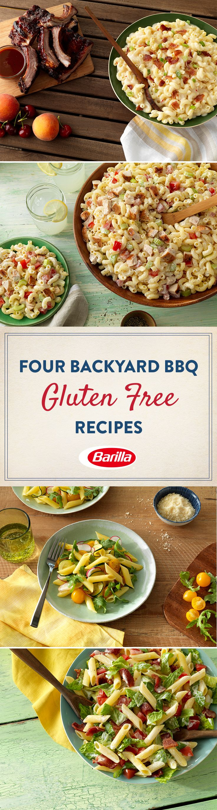 Take your backyard BBQ meals up a notch with these 4 delicious and easy gluten free recipes.