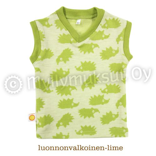 Slipover print, merino wool - Children's clothing - Merino wool clothes - Myllymuksut