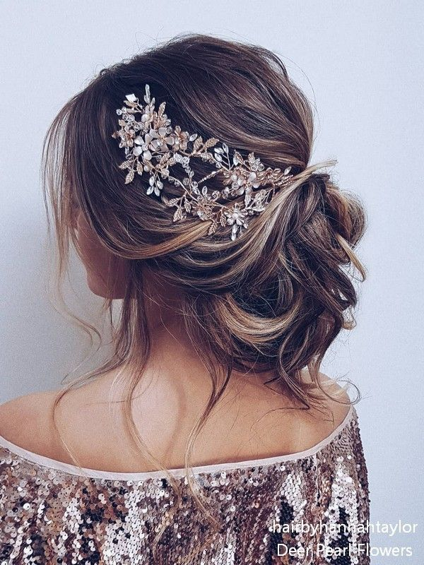 Lange Hochzeitsfrisuren und Hochsteckfrisuren von Hair Von Hannah Taylor