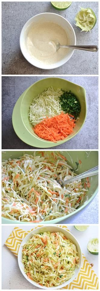 Coleslaw, Coleslaw dressing and Green cabbage on Pinterest
