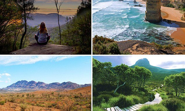 Check out the top hiking trails in Australia for 2015