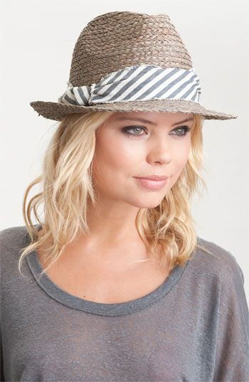 Loving fedoras for spring and summer