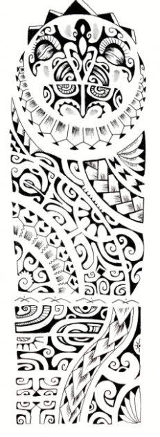 Polynesian tattoo pattern                                                                                                                                                                                 More