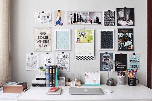 Image via we heart it for Diy study table design