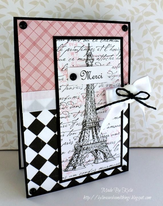 Kylies Cards and Things: Merci