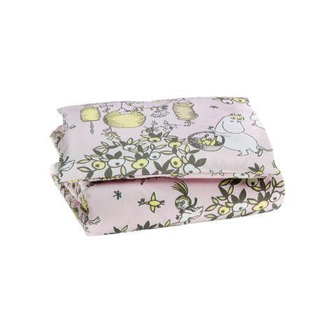 Vauvan pussilakanasetti Juhlamuumi roosa http://lahjaopas.info/lahjat/vauvan-pussilakanasetti-juhlamuumi-roosa/ #lahjaideat #vauvalle #muumi