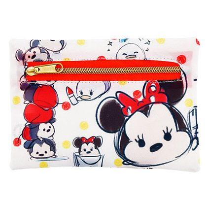Aaaa-Choo! Need a tissue? Check out the New Disney Tsum Tsum Character Tissue Cases. This small yet convenient case will hold an on the go tissue packet. This holder has an open and close zipper to help get the tissue packet inside quickly and easily. There are 4 different tissue case designs. You c