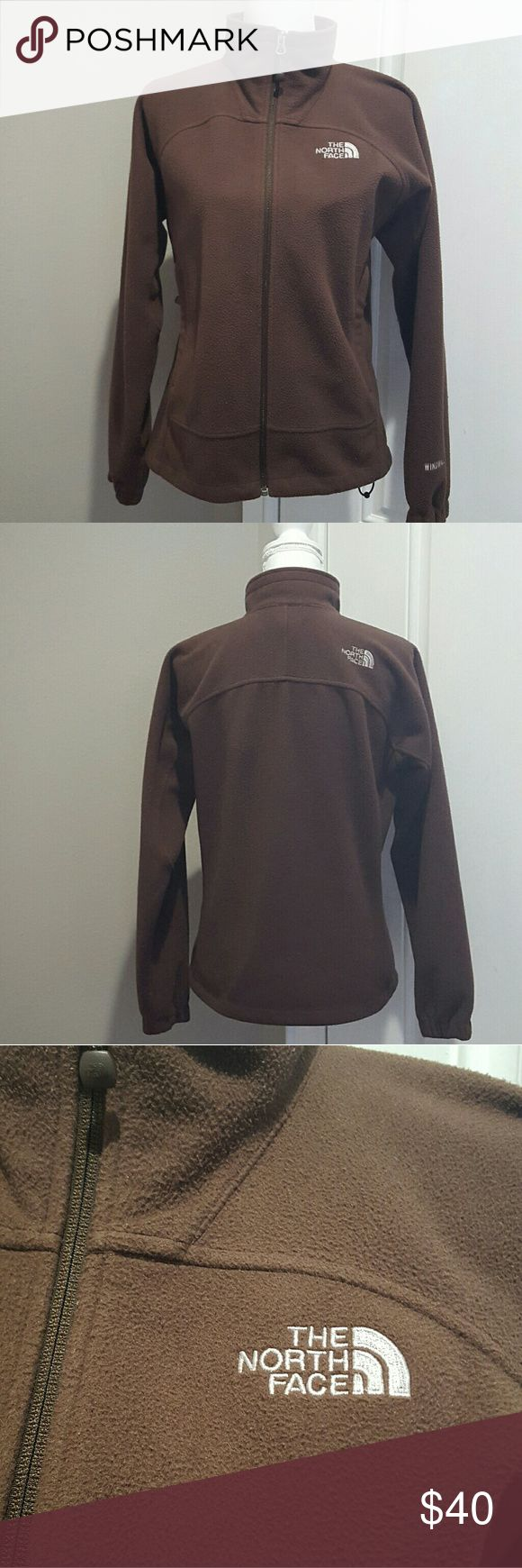 Women's brown North Face fleece jacket, medium Women's brown North Face fleece jacket, size medium. no stains or tares. Does have some fuzzies, as seen in up close picture. The North Face Jackets & Coats