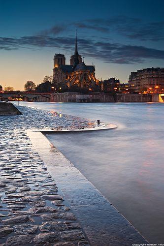 Ile de la Cité, Notre Dame, Paris, France