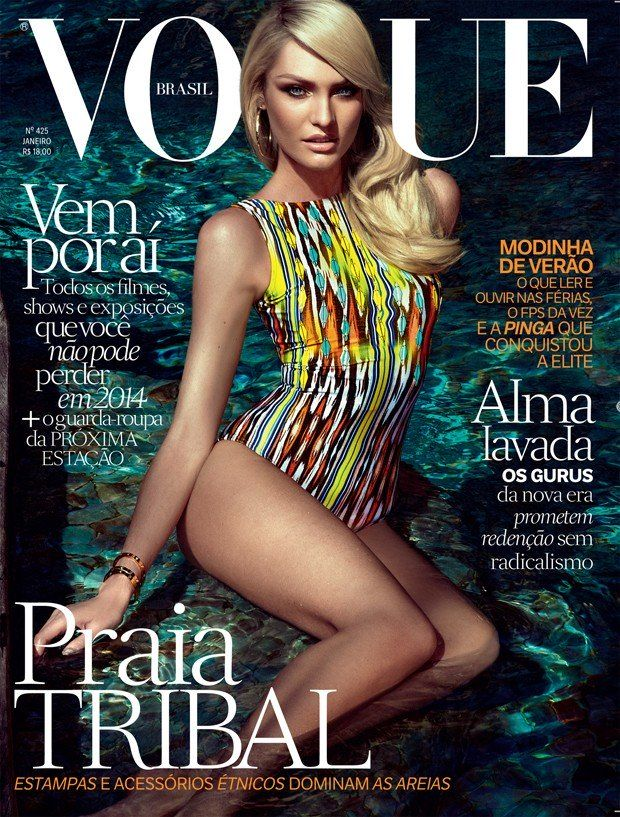 CANDICE SWANEPOEL VOGUE BRAZIL COVER