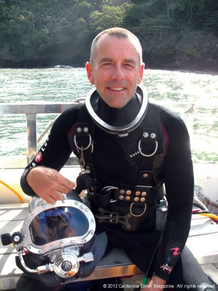 My interview with John Chatterton in the January/February 2012 issue of California Diver Magazine is now available online: click on *photo* to be taken to the interview