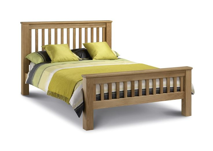 Bonsoni Alavo Oak Bed 4ft 6 Double Bed Frame High Foot End  The timeless design complements both contemporary and traditional decor styles.  https://www.bonsoni.com/alavo-oak-bed-4ft-6-double-bed-frame-high-foot-end