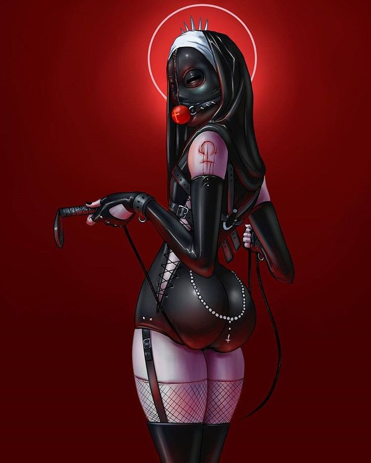 """Rosery"" you could see full image on my other social media sites #horror #bdsm #nun #sexy #pain #digitalart #digitalpainting #drawing #illustration #art"