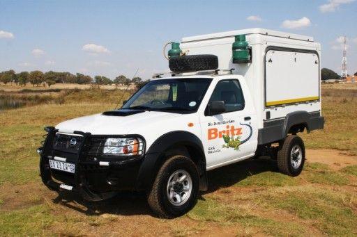 britz 4wd stx - motorhome rental in South Africa