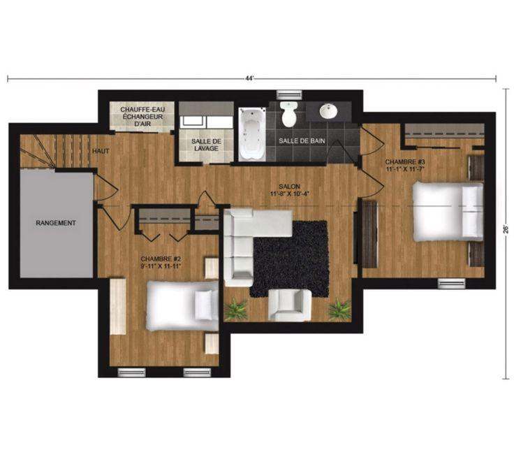 Plan Du Sous Sol Maison Pinterest Construction